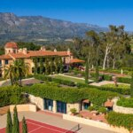 Montecito Villa on Promontory Captures Rare 360-Degree Bird's-Eye Views