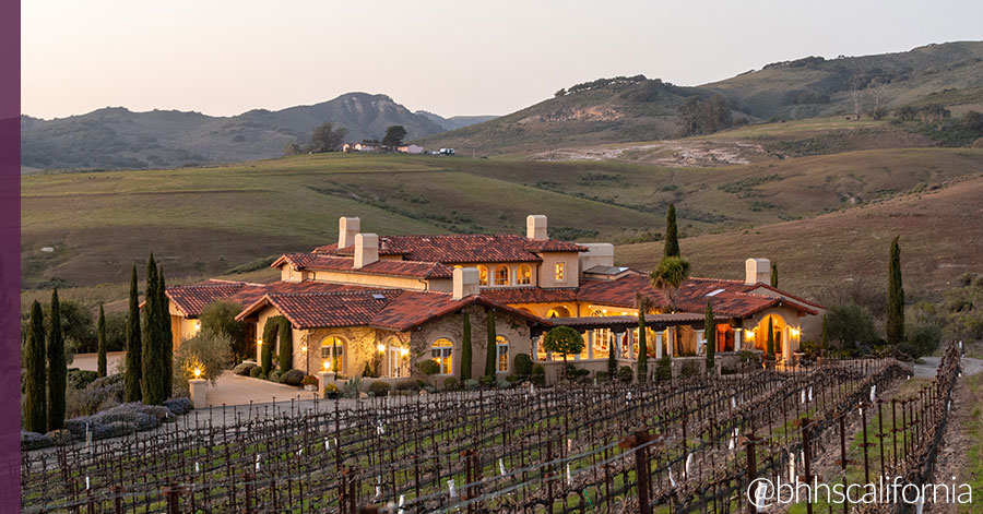 Award-Winning Clos Pepe Vineyard and Luxurious Estate Offer Endless Panoramic Views