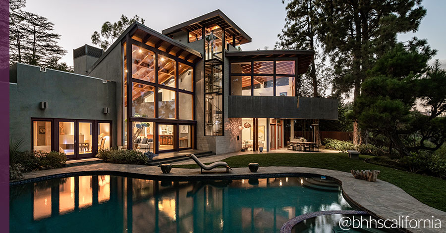 One-of-a-Kind Bel-Air Home was Designed by Renowned L.A. Architect David Hertz