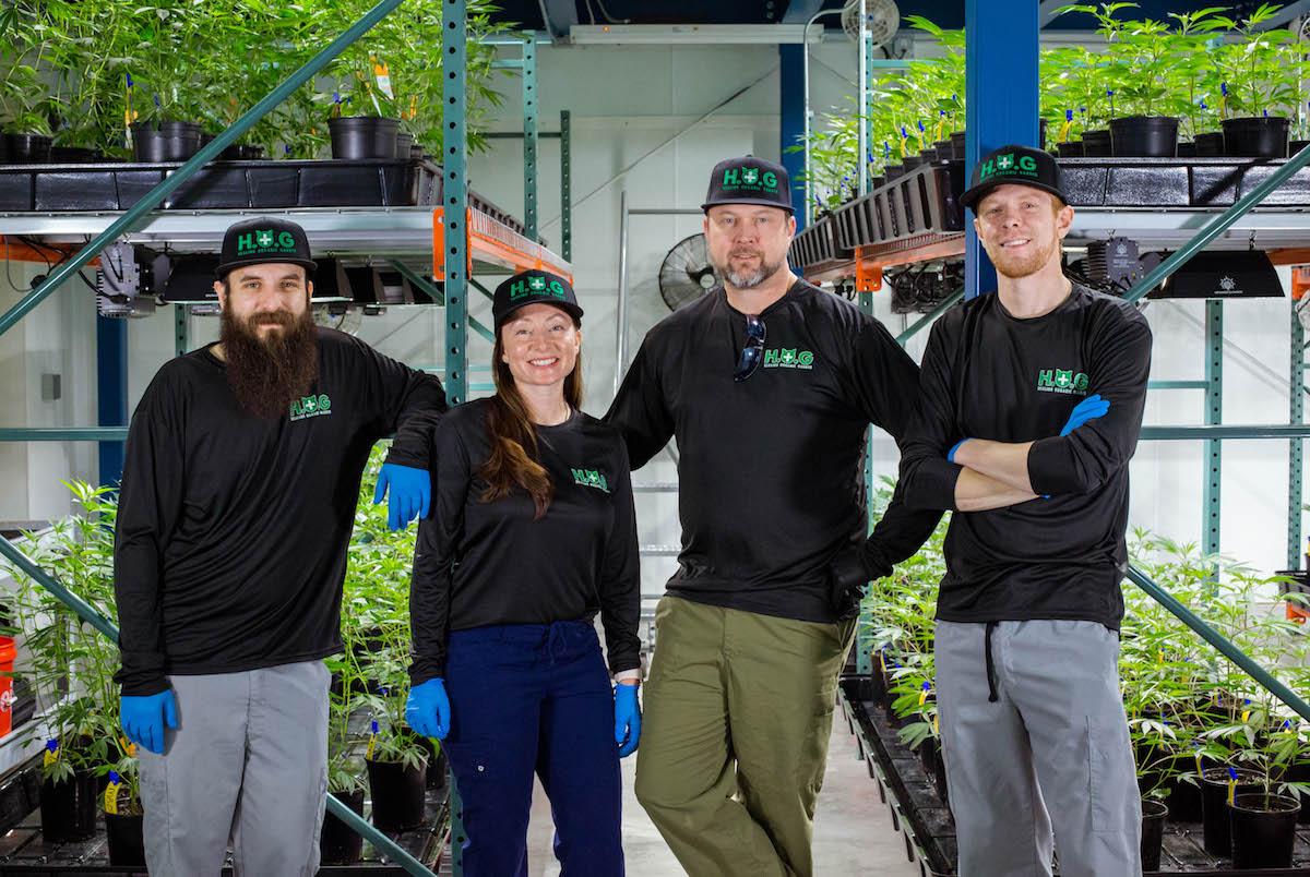 healing organic garden team