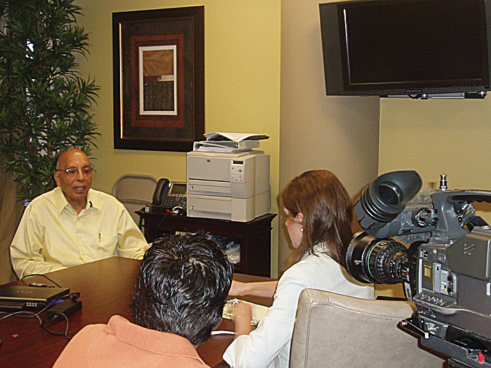 WFAA Interview with Dr. Prakash - Aging in America