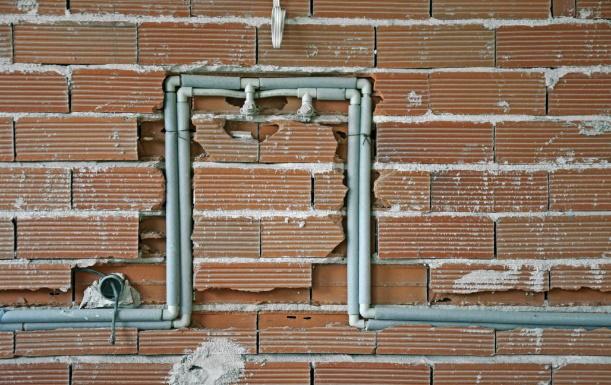 Plumbing in construction