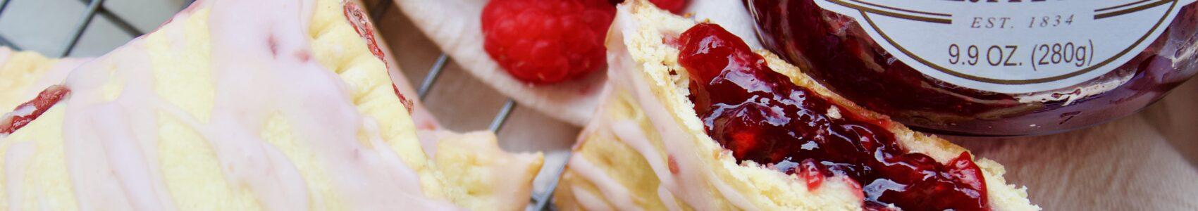 Homemade Raspberry Toaster Pastries