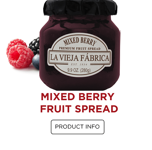 Mixed Berry Fruit Spread