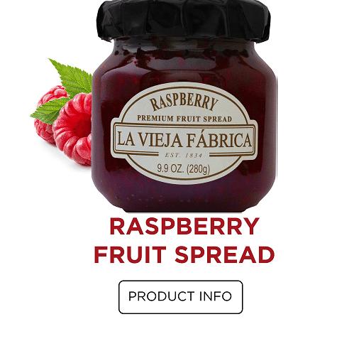 Raspberry Fruit Spread