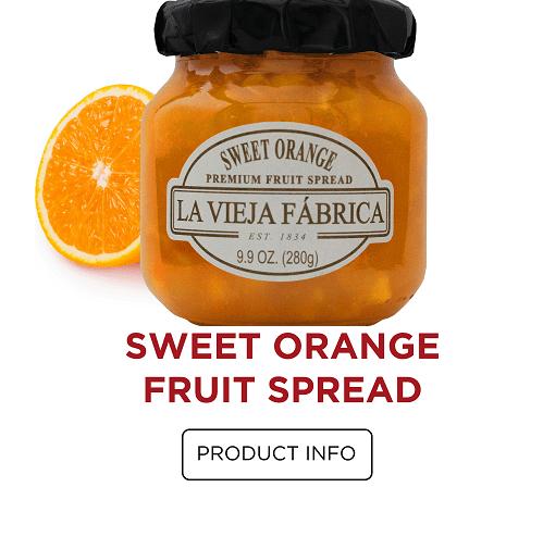 Sweet Orange Fruit Spread