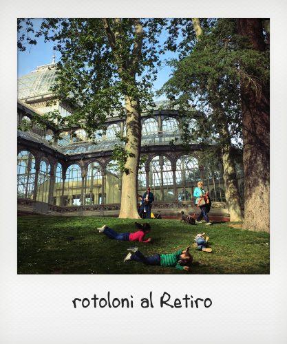 Relax a Madrid in gravidanza al Retiro