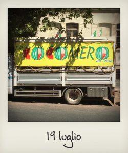 Il camion dei cocomerari di Roma
