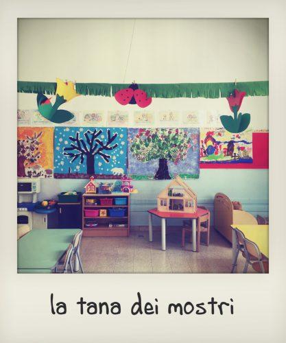 Classe della scuola materna