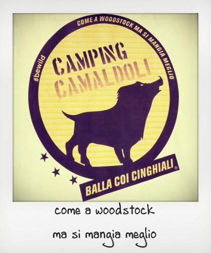 Logo del campeggio di Camaldoli