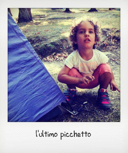 Bambini in campeggio al parco delle foreste Casentinesi