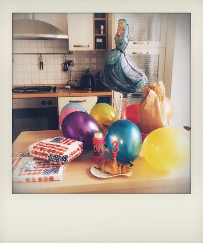 Cornetto di compleanno