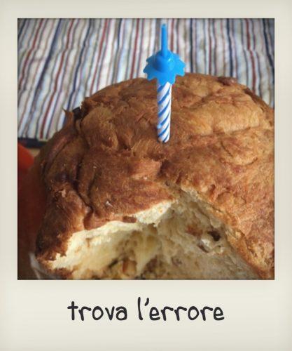 La torta del piccolo lombardo: un panettone