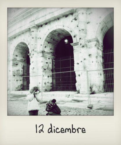 Vacanze di Natale a Roma con bambini: il Colosseo