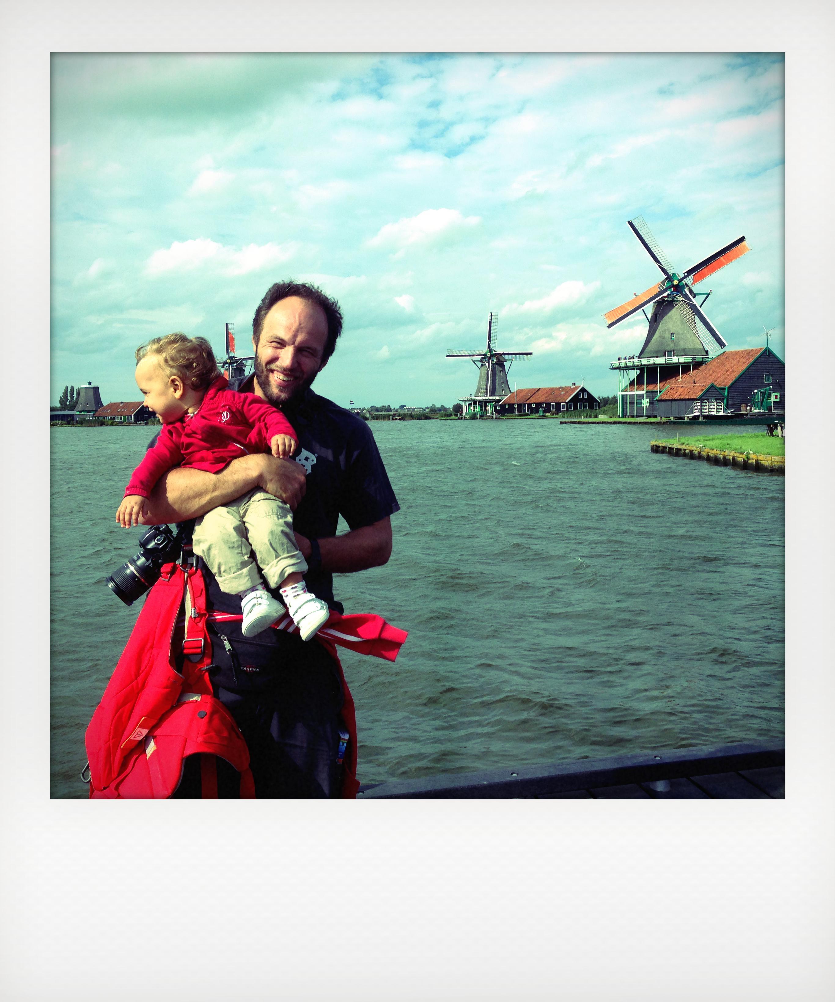 Mulini a vento vicino Amsterdam, a Zaanse Schans