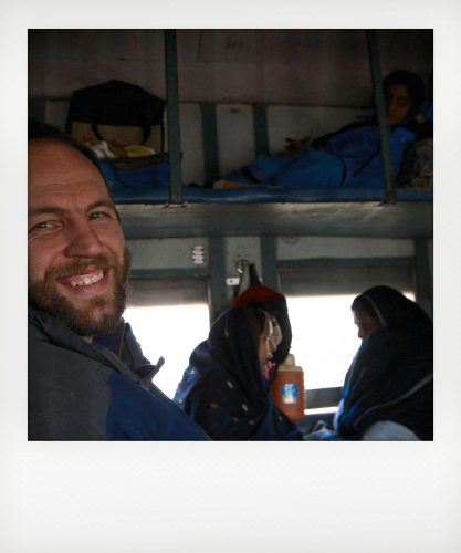 Viaggio in cuccetta in India