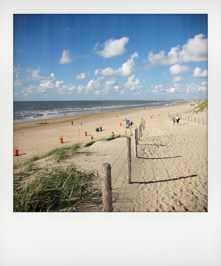 Spiaggia vicino Amsterdam