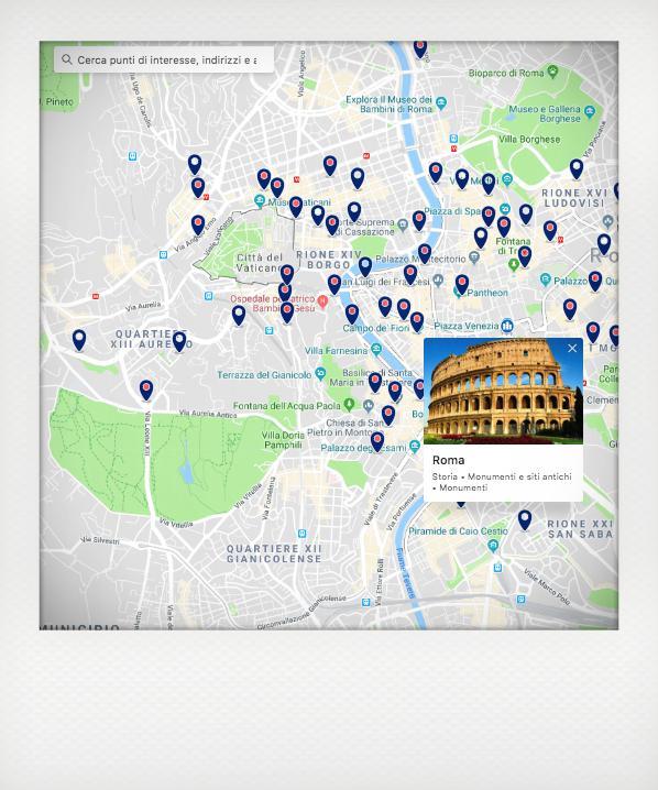 La funzione vedi sulla mappa per prenotare con booking