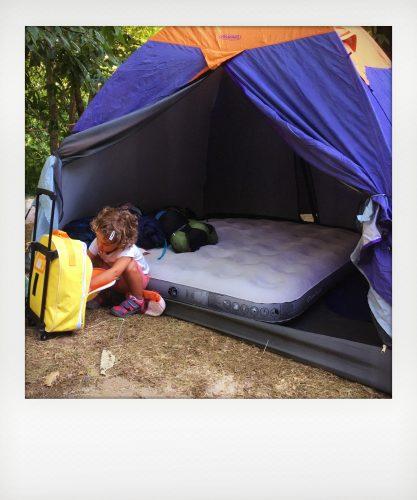 Campeggio con i bambini