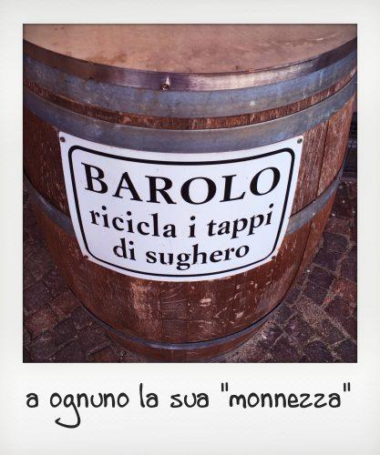 Botte con la scritta Barolo