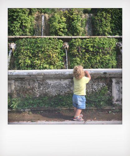 Villa d'Este a Tivoli con i bambini