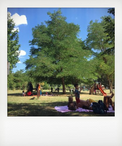 Giochi per bambini nel parco nazionale d'Abruzzo
