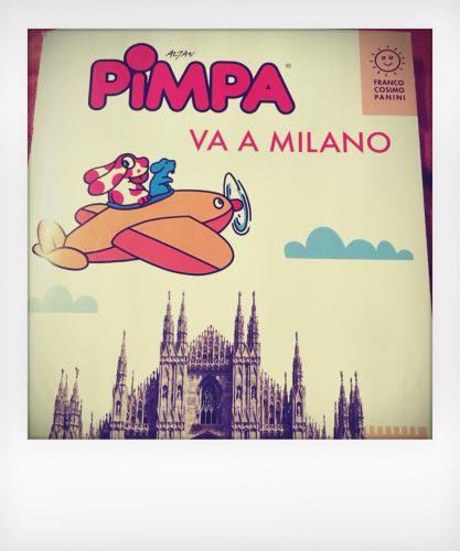Guida di Milano per bambini con la Pimpa