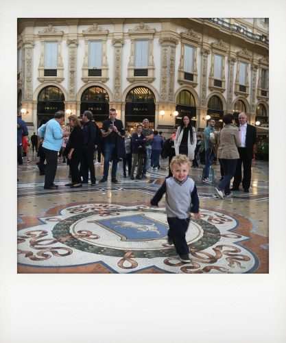 Prima volta a Milano: la galleria