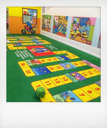 I giochi della Pimpa alla mostra di Altan