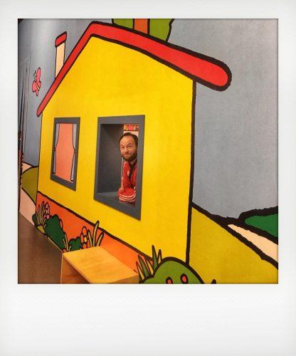 Casa della Pimpa alla mostra di Altan
