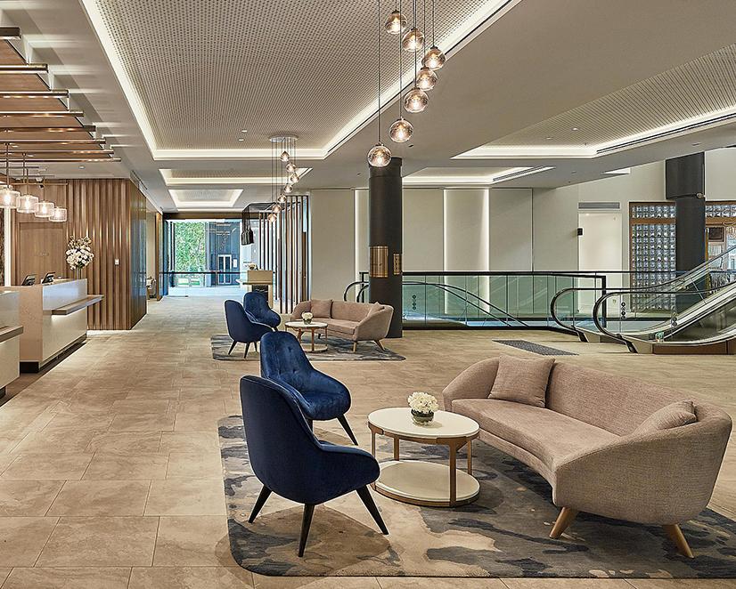 Lobby - Crowne Plaza Melbourne