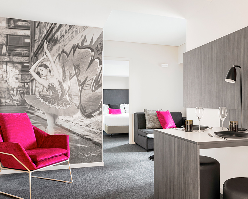 Mantra South Bank Melbourne - 1 Bedroom Deluxe Apartment