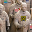 The Terracotta Army Protesting the Potomac Pipeline