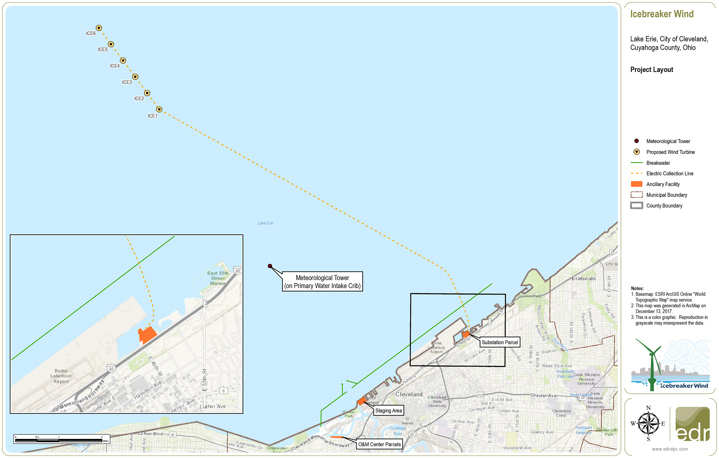 lake erie wind project