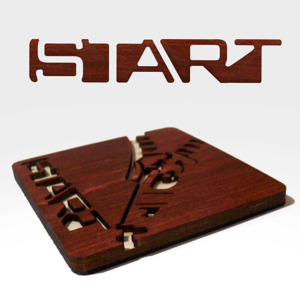 Start Brand Coasters