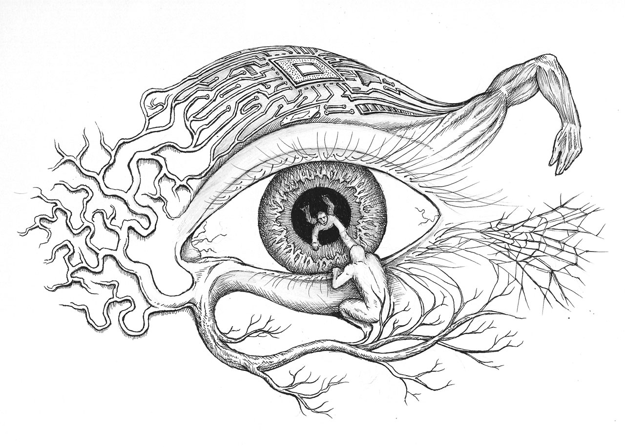 Eye illustration by Zach Johnson