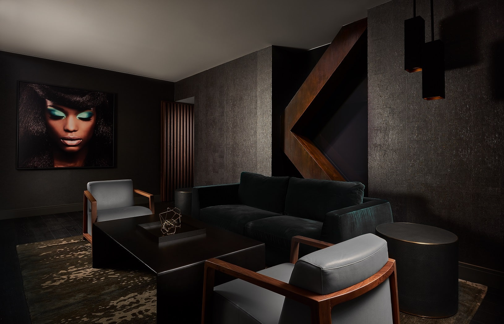 V Suite at Midtown Athletic Club | Chicago, IL | Hospitality | Interior Designers