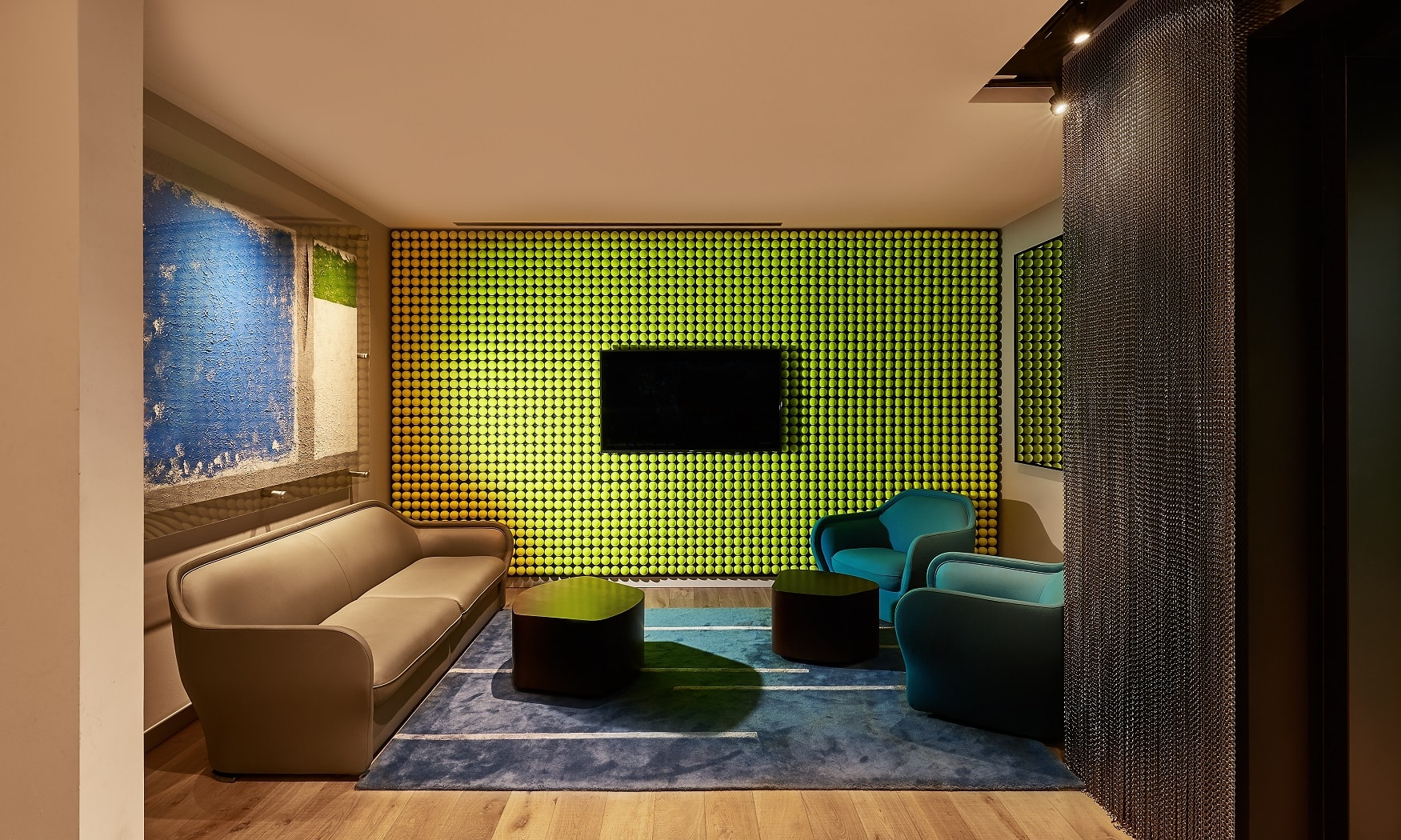 Tennis Lounge at Midtown Athletic Club | Chicago, IL | Hospitality | Interior Designers