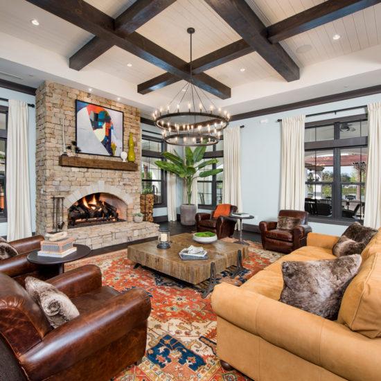 Clubhouse Interior 2 | Town Trelago | Maitland, FL | Multifamily | Interior Design