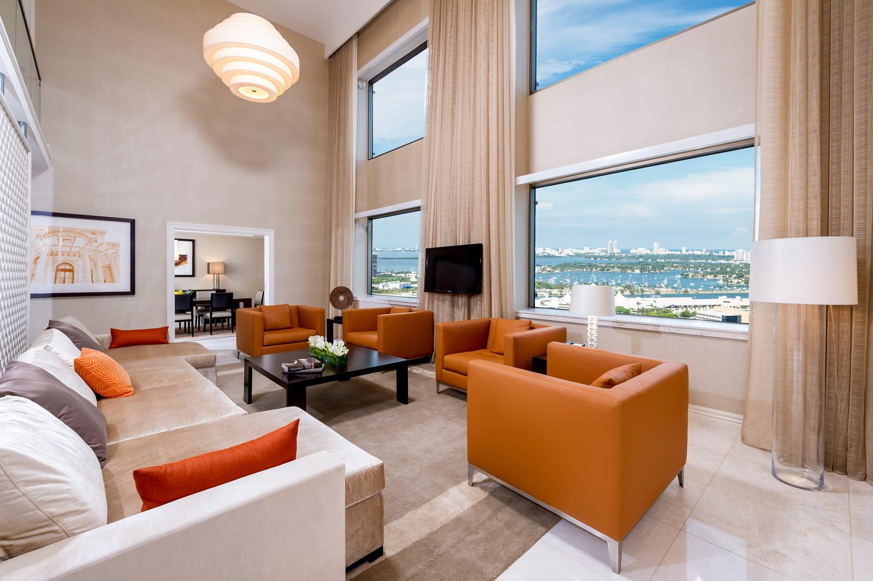Intercontinental Hotel   Room 4   Miami, FL   Hospitality   Interior Designers