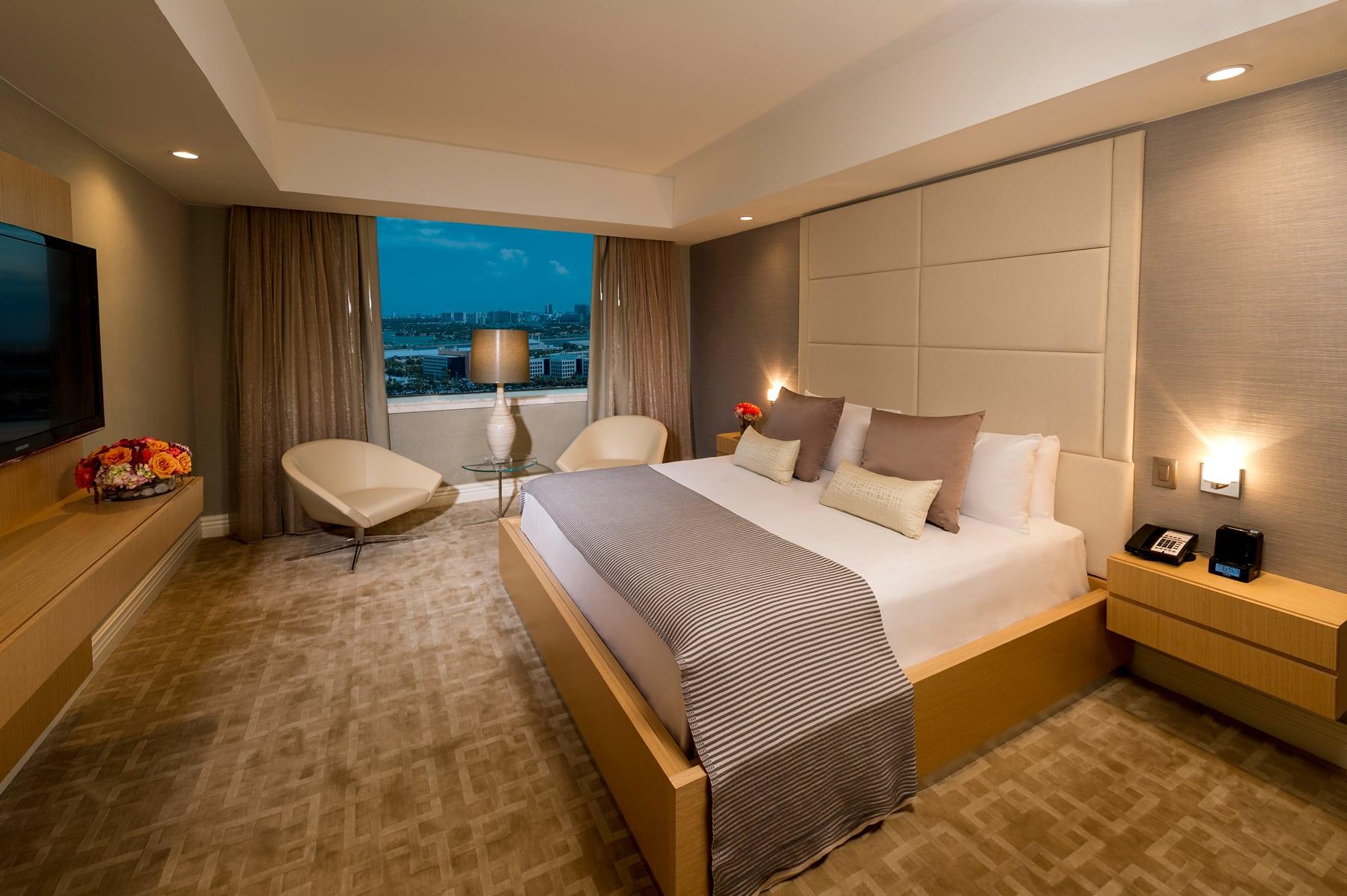 Intercontinental Hotel   Room 3   Miami, FL   Hospitality   Interior Designers