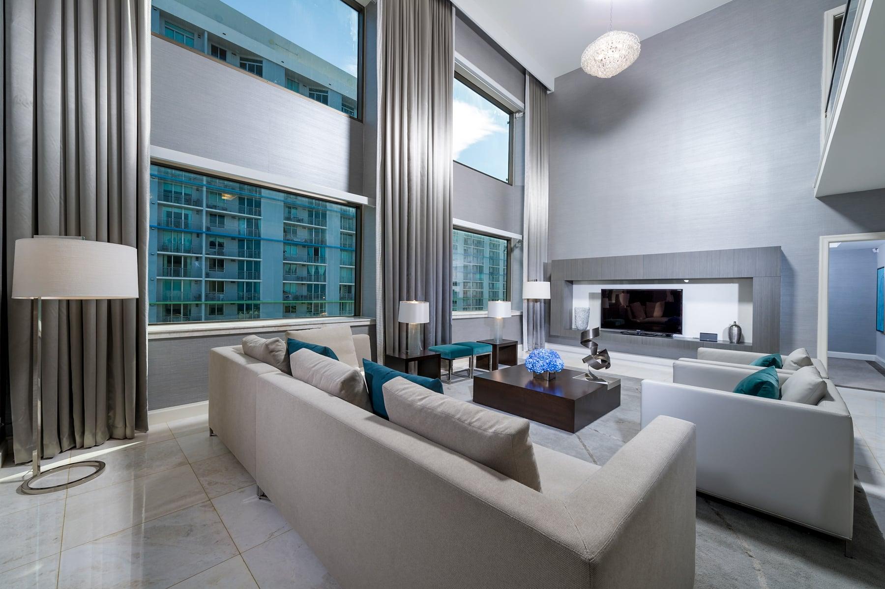 Intercontinental Hotel   Room 2   Miami, FL   Hospitality   Interior Designers