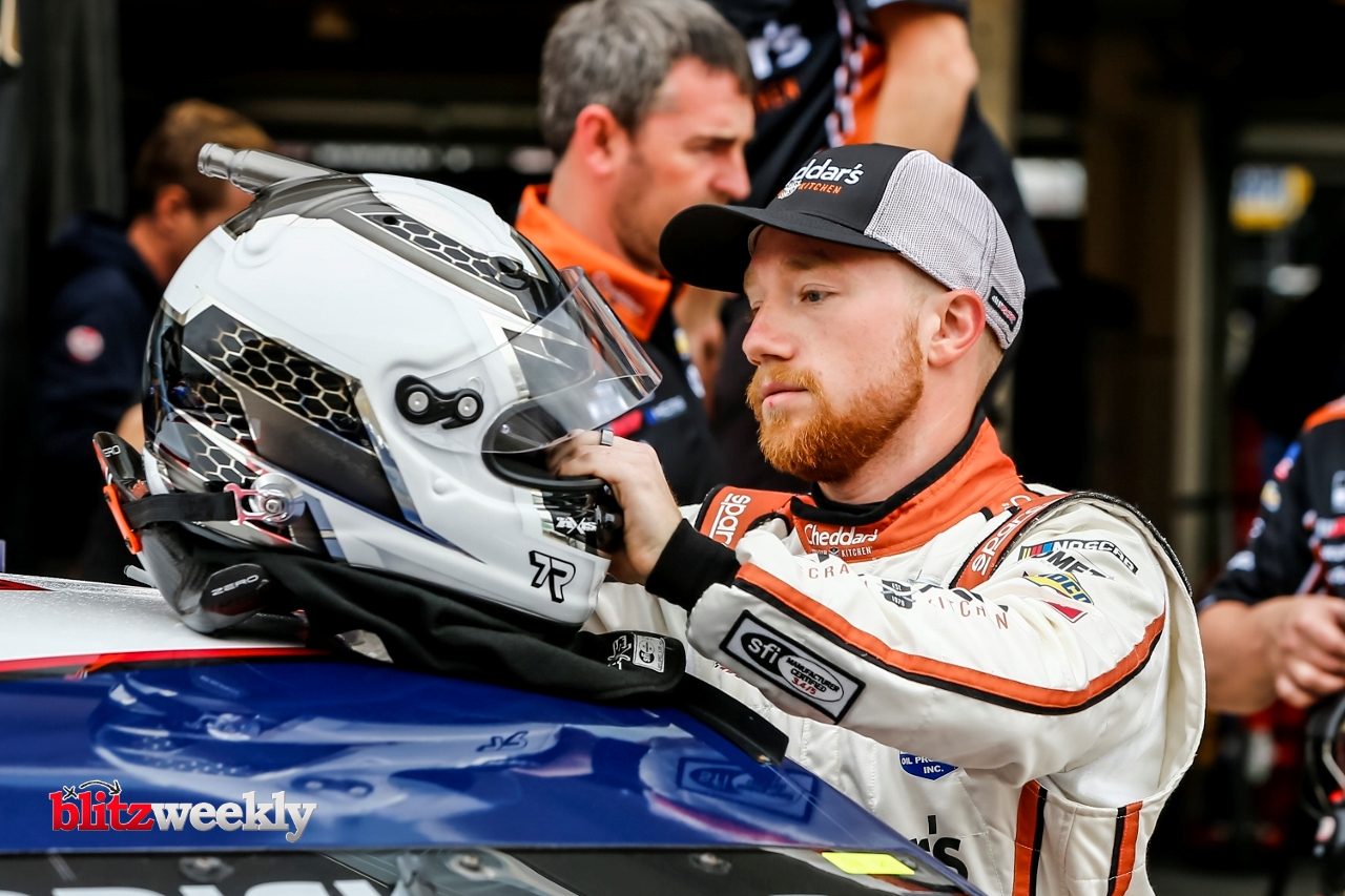 AUSTIN, TX - MAY 23: NASCAR Cup Series driver Tyler Reddick (8) gets ready for qualifying for the Inaugural EchoPark Automotive Texas Grand Prix on May 23, 2021 at the Circuit of The Americas in Austin, Texas. (Photo by Matthew Pearce/Icon Sportswire)
