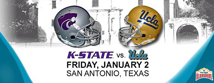 Two 9-3 teams go at it in this year's Alamo Bowl. Photo Courtesy: Valero Alamo Bowl Facebook page