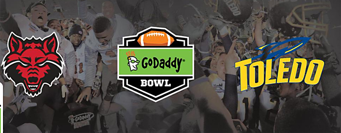 Expect this year's GoDaddy Bowl to be heavy on offense. Photo Courtesy: GoDaddy Bowl Facebook page