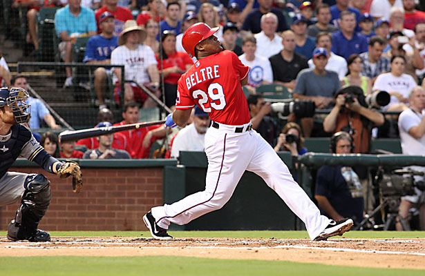 The amazing Adrian Beltre like a fine wine has become a better hitter with age. Photo Courtesy: Dominic Ceraldi