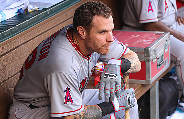 Oh how times change, first the shoulder and now cocaine for Josh Hamilton. Photo Courtesy: Darryl Briggs