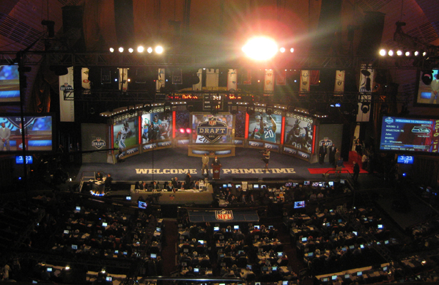 It will be interesting to see who goes first overall at this year's NFL Draft. Photo Courtesy: Marques Stewart Whose name will be called first at the 2015 NFL Draft?