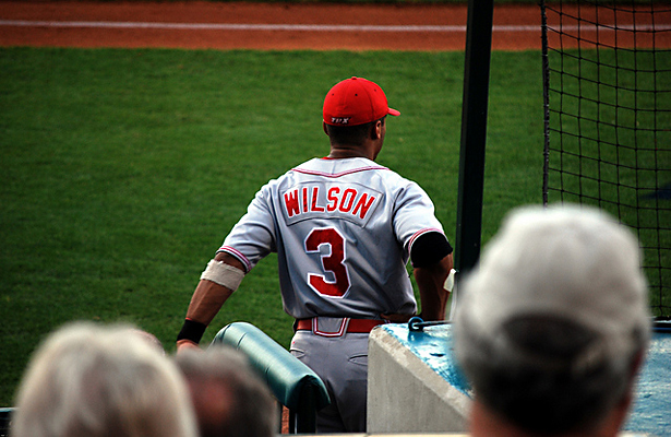 What if Russell Wilson had decided to become a two-sport player? Photo Courtesy: Seth Youngblood