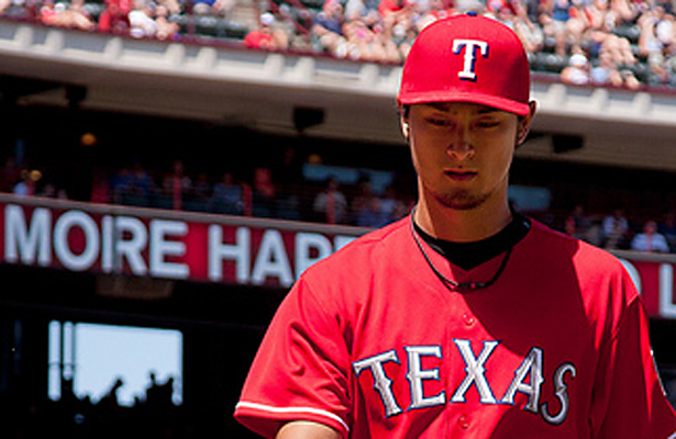 Yu Darvish will soon be a proud father and perhaps this is a sign of good things to come. Photo Courtesy: Kent Gilley
